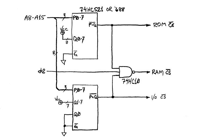 addr decode | homebrew-6502 primer