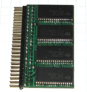 WM-1 32Mb 4Mx8 10ns 5V SRAM module